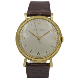 IWC Schaffhausen 18K Yellow Gold Manual Winding Watch
