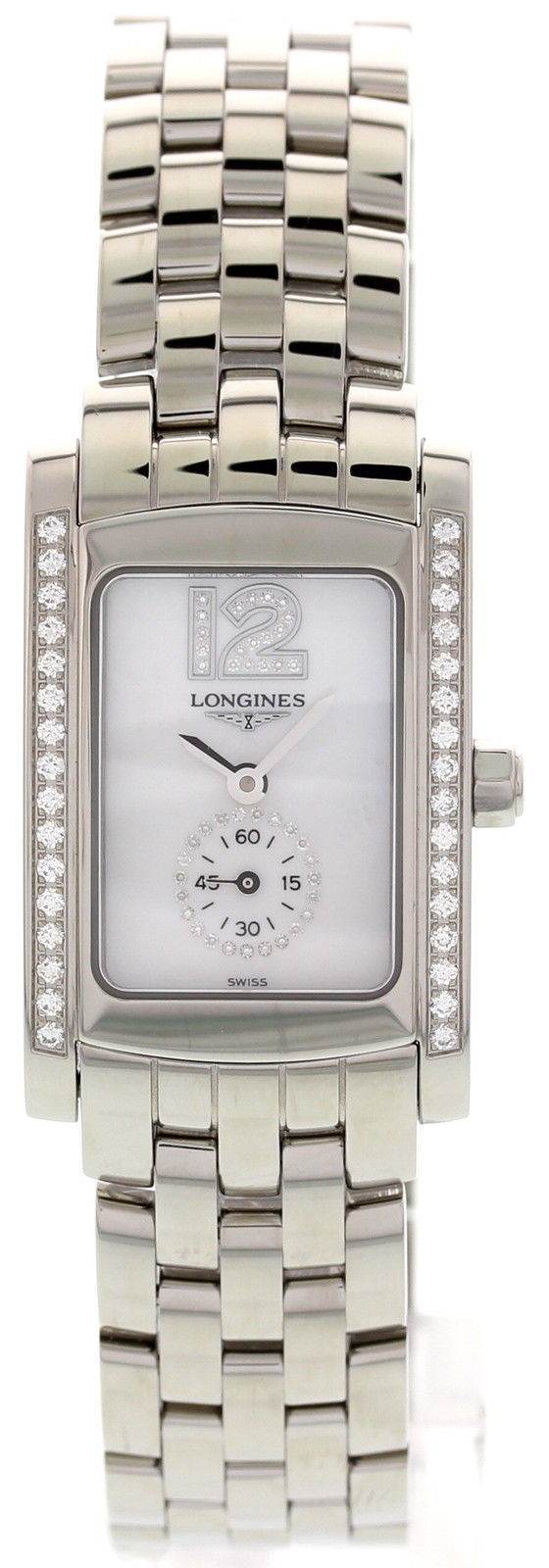 """Image of """"Longines DolceVita Stainless Steel With Diamonds L5.155.0 Ladies Watch"""""""