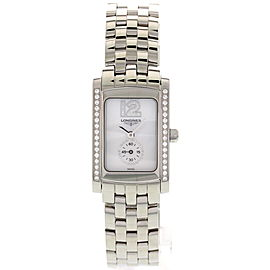 Longines DolceVita Stainless Steel With Diamonds L5.155.0 Ladies Watch