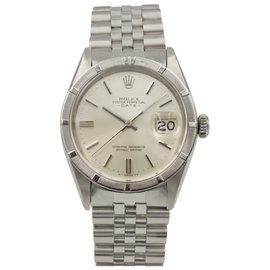 Rolex 1501 Date Zephyr Stainless Steel Automatic Vintage Men's Watch