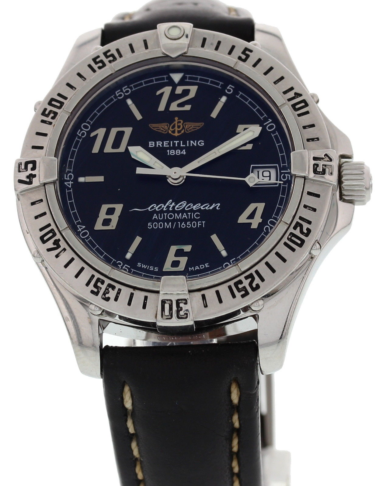 """Image of """"Breitling A17350 Colt Ocean Stainless Steel Automatic Mens Watch"""""""