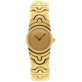 Bulgari Parentesi 854893 18K Yellow Gold Bangle Womens Watch