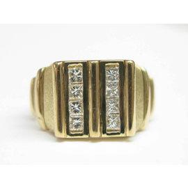 Fred of Paris 18K Princess Cut Diamond Jewelry Ring