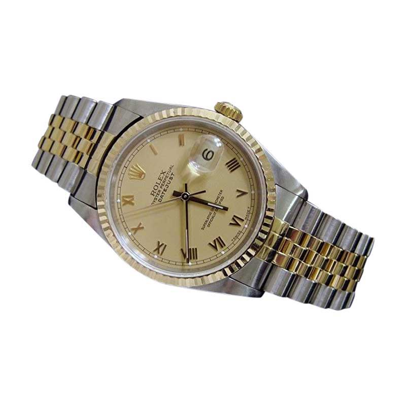 "Image of ""Rolex 16233 2Tone 18K Gold/Stainless Steel Datejust Jubilee Champagne"""