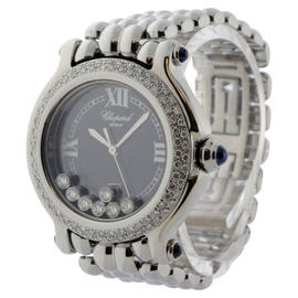 Chopard Happy Sport 27/8236-23 Stainless Steel Diamond & Sapphire Quartz 33mm Watch