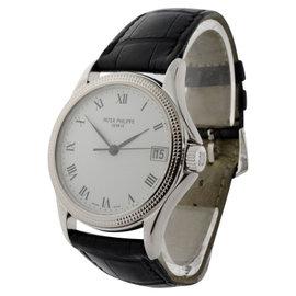 Patek Philippe Calatrava 5117G 18K White Gold Mens Watch