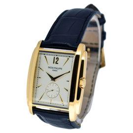 Patek Philippe Gondolo 5124J 18K Yellow Gold Mens Watch
