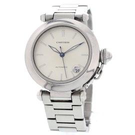 Cartier Pasha De 2324 Stainless Steel Men's Watch