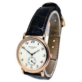 Patek Philippe Calatrava 5022 18K Rose Gold Mens Watch