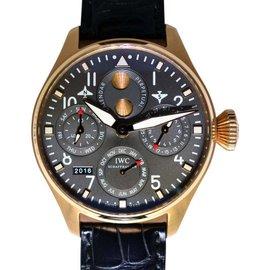 IWC Big Pilot IW502638 Perpetual Calendar 18K Rose Gold Mens Watch
