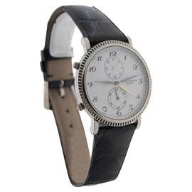 Patek Philippe Travel Time 5034G 18K White Gold Mens Watch