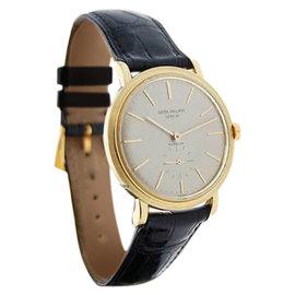 Patek Philippe 3429J 3429 Gubelin 18K Yellow Gold Mens Watch