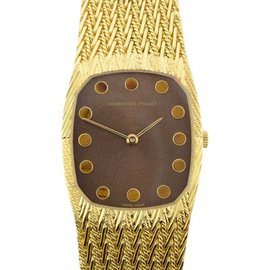 Audemars Piguet Vintage Dress Mechanical 18K Yellow Gold Womens Watch