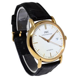 IWC Portofino 3565 18K Rose Gold Automatic Mens Watch
