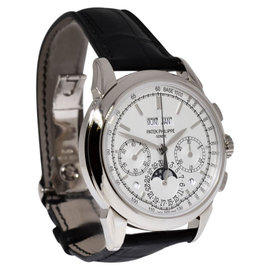 Patek Philippe Grand Complications 5270G-013 Chronograph 18K White Gold Mens Watch