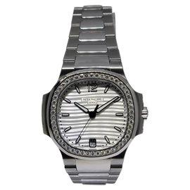 Patek Philippe Nautilus 7018/1A Steel Diamond Womens Watch