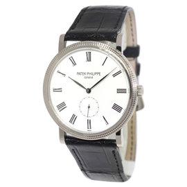 Patek Philippe 5119G Calatrava 18K White Gold Manual Mens Watch
