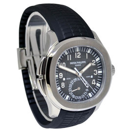 Patek Philippe 5164A-001 Aquanaut Travel Time Steel Mens Watch