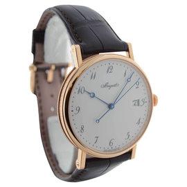 Breguet 5177 Classique Automatic 18K Rose Gold Mens Watch