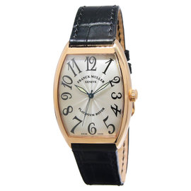 Franck Muller Curvex Platinum Rotor 18K Rose Gold Automatic Mens Watch
