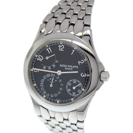 Patek Philippe 5085A 5085 Complications Stainless Steel Mens Watch
