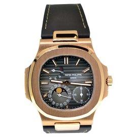 Patek Philippe Nautilus 5712R-001 18K Rose Gold Mens Watch