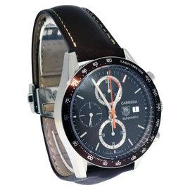 Tag Heuer Carrera Fangio CV-2013-4 Steel Chronograph Watch