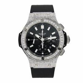 Hublot Big Bang 301.SX.1170.RX Black Rubber Stainless Steel 44mm Watch
