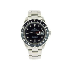 Rolex GMT-Master II 16710 Stainless Steel 40mm Date Watch