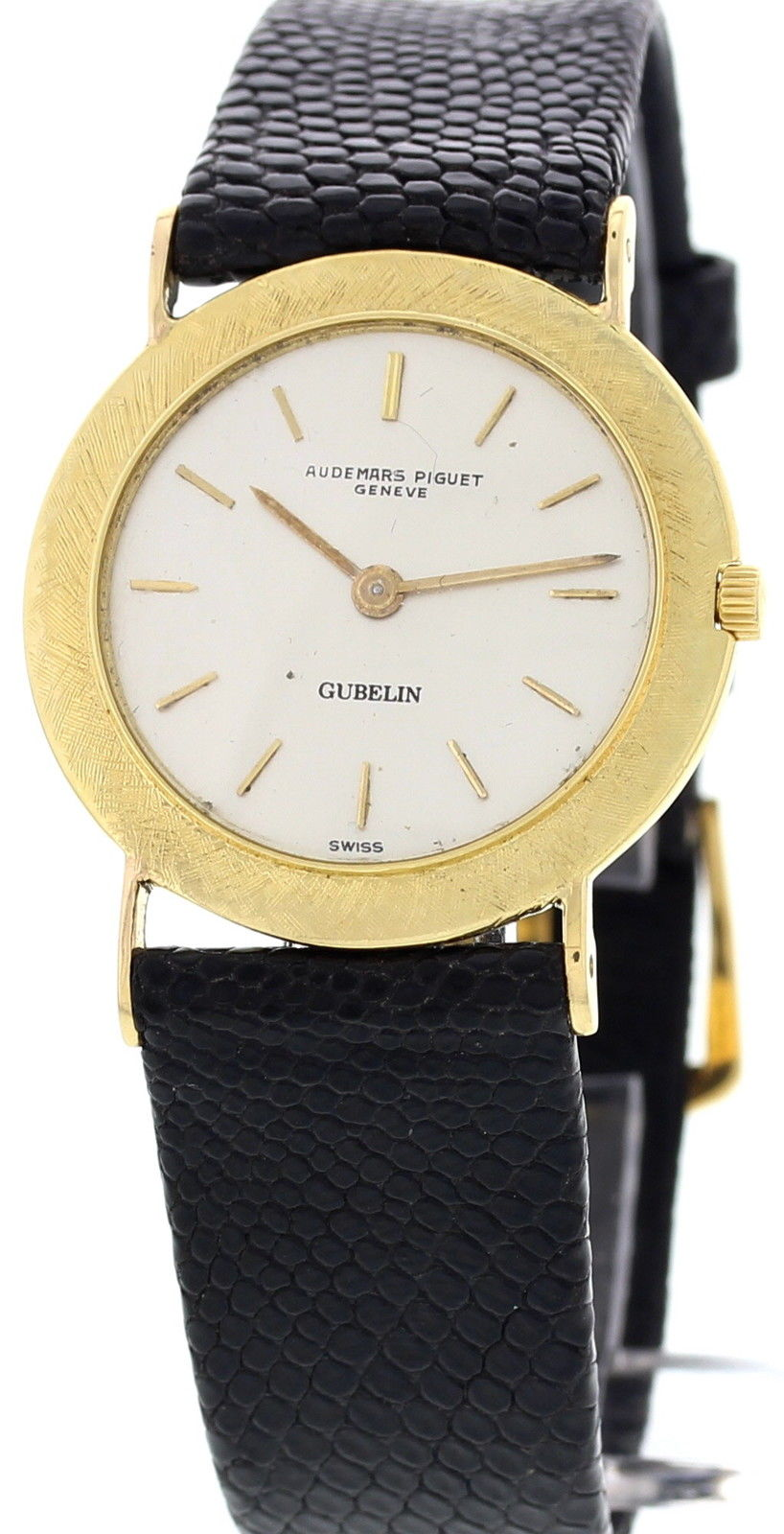 "Image of ""Audemars Piguet 16292 Gubelin 18K Yellow Gold Vintage Unisex Watch"""