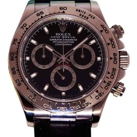 Rolex Daytona 116519 18K White Gold Chronograph Watch