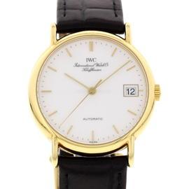 IWC 3513-001 Schaffhausen Portofino 18K Yellow Gold Mens Watch