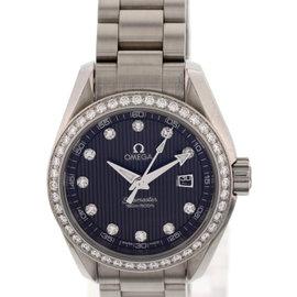 Omega Seamaster Aqua Terra 023115306156001 Stainless Steel & Diamonds Womens Watch