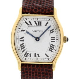 Cartier Tortue 60035 18K Yellow Gold Vintage Watch