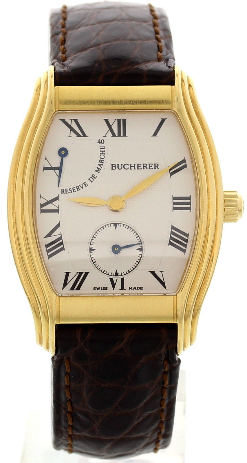 "Image of ""Bucherer Archimedes Reserve De Marche 18K Yellow Gold Hand Winding"""