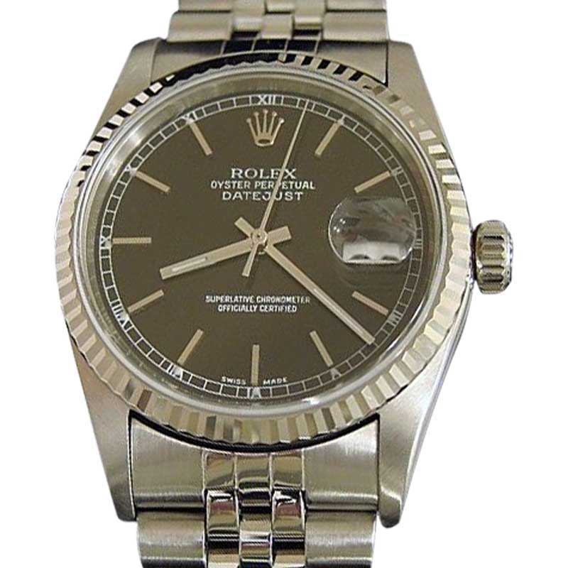 "Image of ""Rolex 16234 Stainless Steel Stainless Steel/18K White Gold Datejust"""