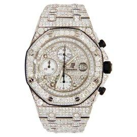 Audemars Piguet Royal Oak Offshore Stainless Steel Diamond 42mm Watch