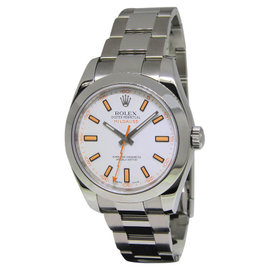 Rolex Milgauss 116400 Stainless Steel White Dial Automatic 40mm Watch