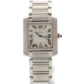 Cartier Tank 2302 Stainless Steel Automatic Men's Watch