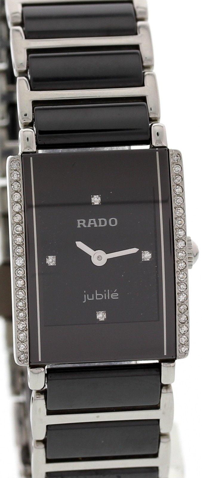 """Image of """"Rado 153.0488.3 Jubile Titanium & Diamond Womens Watch"""""""