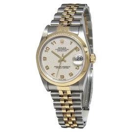 Rolex Datejust 78243 18K Yellow Gold/Steel Jubilee Dial Unisex Watch