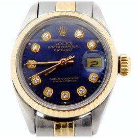 Rolex Datejust 6917 Two Tone 14K Yellow Gold & Stainless Steel Vintage Womens Watch