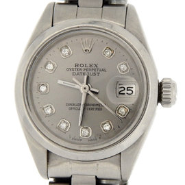 Rolex Datejust 6916 Stainless Steel Womens Watch