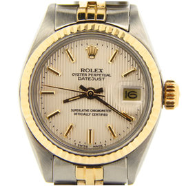 Rolex Datejust 6917 14K Yellow Gold & Stainless Steel Womens Watch