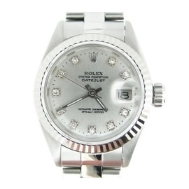 Rolex Datejust 6917 Stainless Steel & 18K White Gold Womens Watch