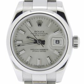 Rolex Datejust 179160 Stainless Steel Womens Watch