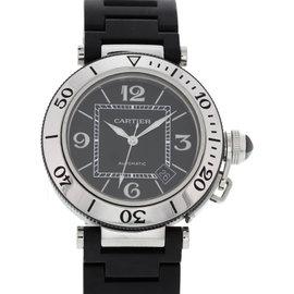 Cartier Pasha De 2790 Automatic Stainless Steel & Ceramic 40 mm Men's Watch