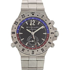 Bulgari Diagono GMT40S Stainless Steel Chronograph Automatic 40mm Mens Watch