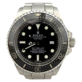 Rolex Deepsea Sea-Dweller 116660 Stainless Steel Black Dial 40mm Watch