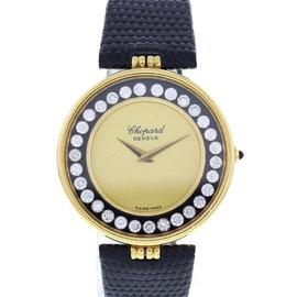 Chopard Happy Diamonds H/2466 18K Yellow Gold Manual 33mm Womens Watch